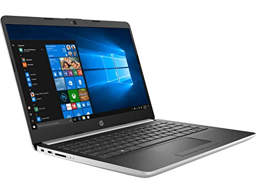 HP 14s cr1018TX 14-inch Laptop (8th Gen i5-8265U/8GB/1TB HDD + 256GB SSD/Windows 10 Home/MS Office/2 GB Graphics), Natural Silver