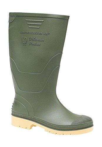 Dikamar Unisex Kinder Administrator Wellington Stiefel Gummistiefel Regenstiefel Grün EUR 32