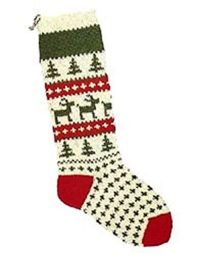 Christmas Stocking Knitting Kit; Reindeer