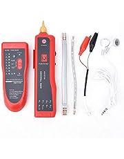 Testador de cabo multifuncional, localizador de linha de localização de fio para cabo de rede de linha telefônica, formato de transmissão de sinal de pulso multi-áudio, velocidade de