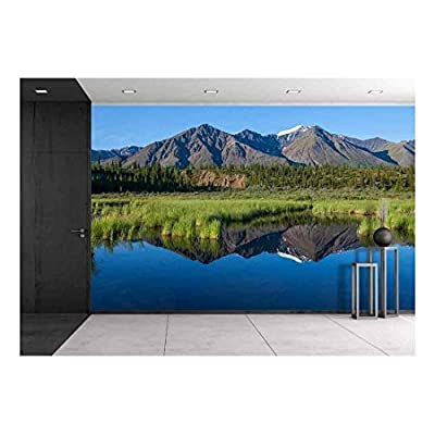 Mckinley Reflection in Lake on Alaska - Wall Murals