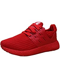 Women's Breathable Lightweight Mesh Lace-Up Fashion Sneaker