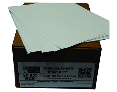 Thermal Cut Sheet Paper (8.5-x-11-inch) SP850