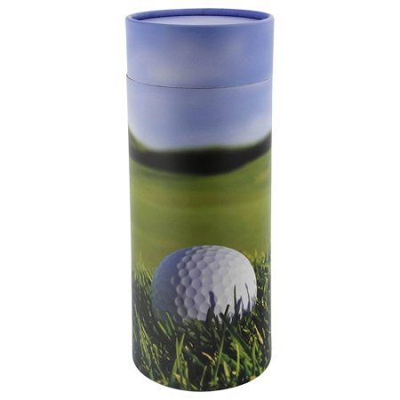 Silverlight Urns Golf Scattering Tube, Biodegradable Cremation Urn to Scatter Ashes, Eco Friendly and - Design Urn