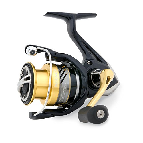 Shimano Nasci 2500 FB Spinning Fishing Reel With Front Drag Model 2017, ()