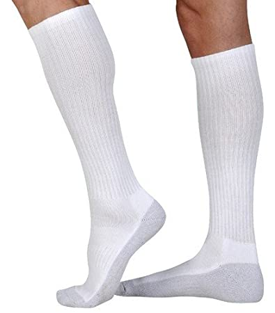 1851c9df579 Image Unavailable. Image not available for. Color  Juzo Silver Sole 12-16  mmHg Mild Compression Knee High Socks 5760AD