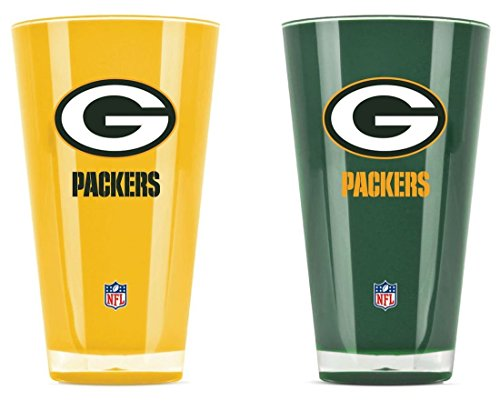 NFL Green Bay Packers 20-Ounce Insulated Tumbler - 2 Pack