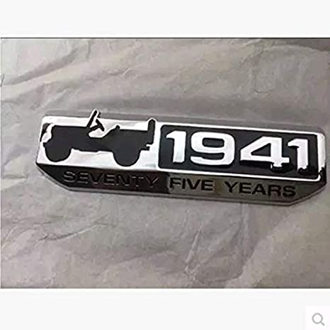 Jeep Silver Badge Logo Metal Decal Emblem Badge For Jeep Cherokee Wrangler