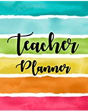 Lesson Planner for Teachers 2019-2020: Weekly and Monthly Teacher Planner, Time Management for Teachers, Academic Year Lesson Plan and Record Book (July 2019 - July 2020)