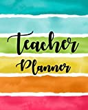 Lesson Planner for Teachers 2019-2020: Weekly and