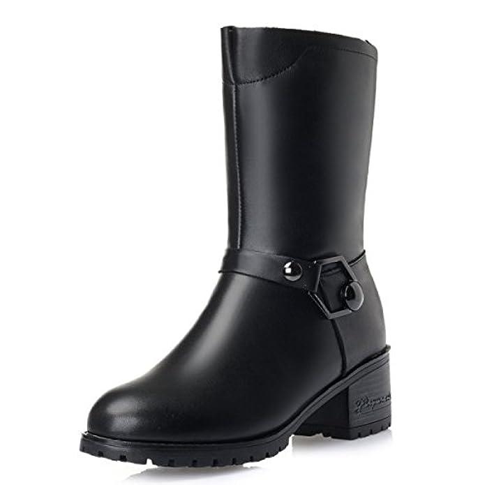 Scarpe E Borse Da Donna Col Tacco Gtyw Ladies High Heels Stivali Winter New In Boots Thick Con Velluto Cotton Shoes Wool Wild Warm