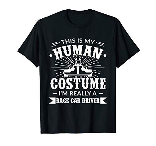 Human Costume Im Really a Race Car