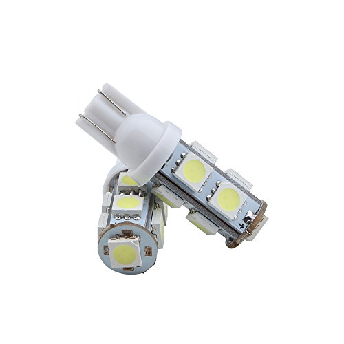 Grandview White 108 Lumens T10 W5w 194 168 5050 9 Smd Led 12v Interior Super Bright Car Light
