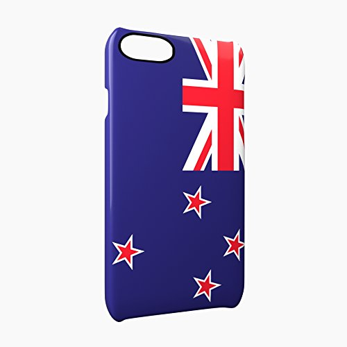 Flag of New Zealand Glossy Hard Snap-On Protective iPhone 7 Plus + Case Cover