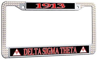 Delta Sigma Theta 1913 License Plate Frame