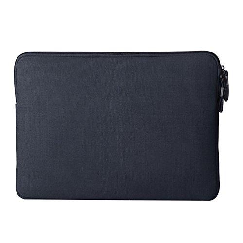 YiJee Wasserdicht Sleeve Laptoptasche Notebookhülle Zubehörtasche für MacBooks 13.3 Zoll Marine 1