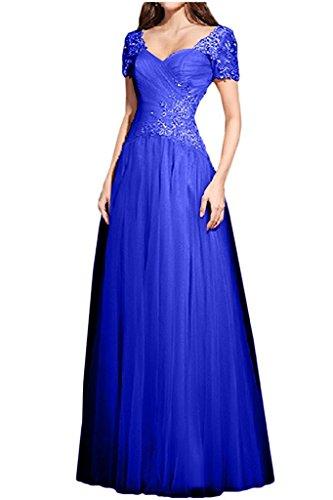 Damen Abendkleider Braut Royal Abschlussballkleider Blau La Marie Linie Prinzess Abiballkleider Tuerkis A xIFEaR
