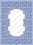 Cuttlebug Provo Craft Plus Embossing Folders, Brocade Window