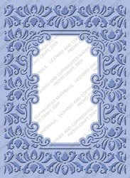 Cuttlebug Provo Craft Plus Embossing Folders, Brocade Window