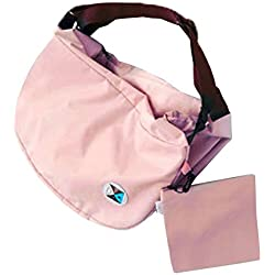 FTSUCQ Womens Multi-function Storage Container Clutch Shoulder Bags Backpacks (Pink-1)