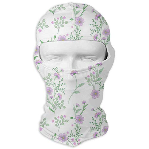 LoveBea Balaclava Small Flower Full Face Masks Ski Sports Ca