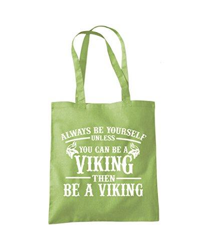 Can Tote be Viking You Always be Unless Bag Fashion Shopper Green Kiwi Yourself a wIx8qTC