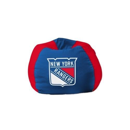 Bag Hugging Bean (NHL Bean Bag Chair NHL Team: New York Rangers)