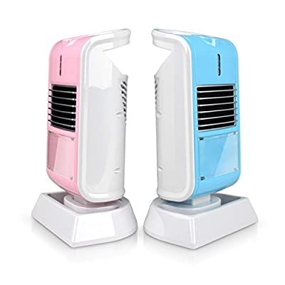 Heater for Office or Personal Use By Lifeidea, Angle Adjustable, Tip Over and Automatic Overheat Protection,Available in Black,Blue and Pink