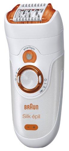 Braun SE 7181 WD Silk Epil 7 Wet & Dry Epilator, Orange/Copper