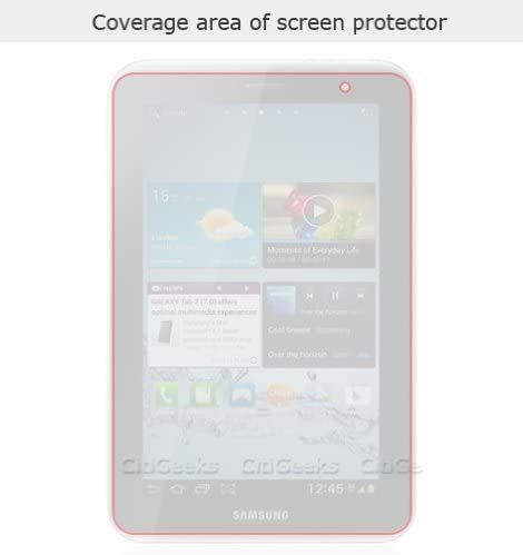 Fingerprint Resistant CitiGeeks 3X Reduced-Glare HD Screen Protector for Samsung Galaxy Tab 2 7.0 CitiGeeks Retail Package. Semi-Matte for HD Screen GT-P3113 Pack of 3