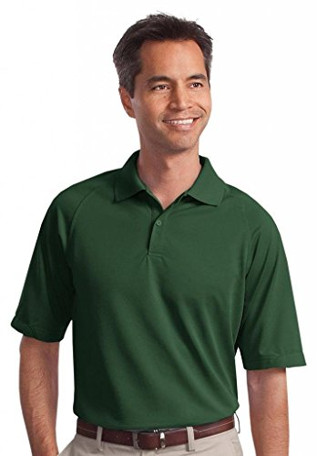 Port Authority Men's Tall Dry Zone Ottoman Polo 3XLT Dark Green