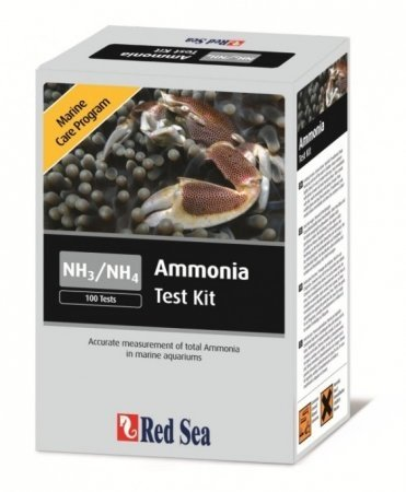 Red Sea Marine Care Program Ammonia Test Kit