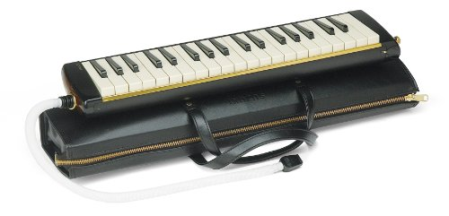 Suzuki Musical Instrument Corporation PRO-37v2 Professional Alto Melodion with Case and 3-Mouthpieces