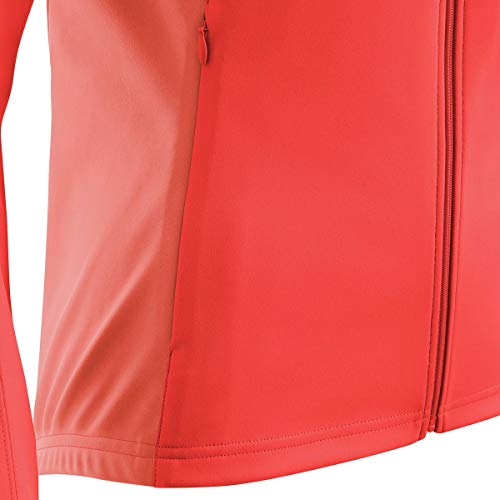 GORE Wear Women's Windproof Cycling Jacket, Removable Sleeves, GORE Wear C3 Women's GORE Wear WINDSTOPPER Phantom Zip-Off Jacket, Size: XL, Color: Lumi Orange/Coral Glow, 100191 by GORE WEAR (Image #3)
