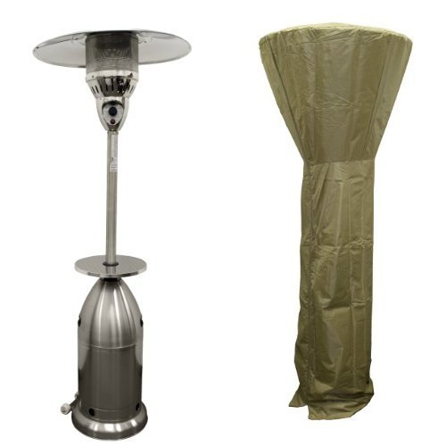 AZ Patio Stainless Steel Tall Tapered Patio Heater HLDS01-TSST with 87