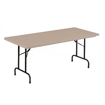 18 X 72 Folding Table.Amazon Com Lightweight Plastic Folding Table 18 X 72