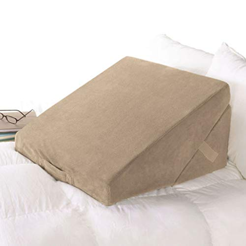 d Wedge Pillow with Body Conforming Memory Foam ()