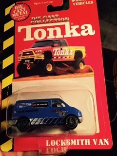 Tonka Die Cast Collection,locksmith Van (Tonka Van)