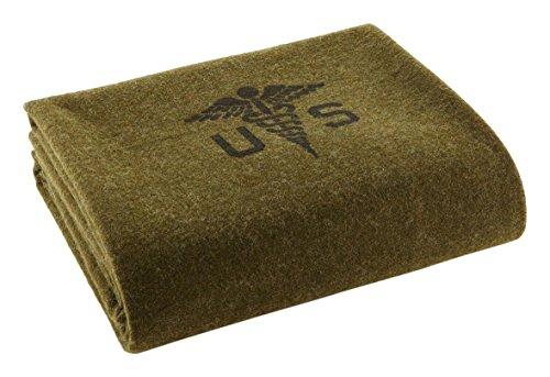 Faribault Woolen Mill Foot Soldier Army Medic Blanket