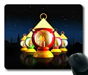 Candle Ornament Sakuraelieechyan Rectangle Mouse Pad wangjiang maoyi
