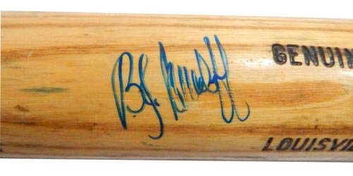 1987 1995 B.J. Surhoff Signed Game Used LS Baseball Bat Brewers #5 Auto Autographed MLB Bats