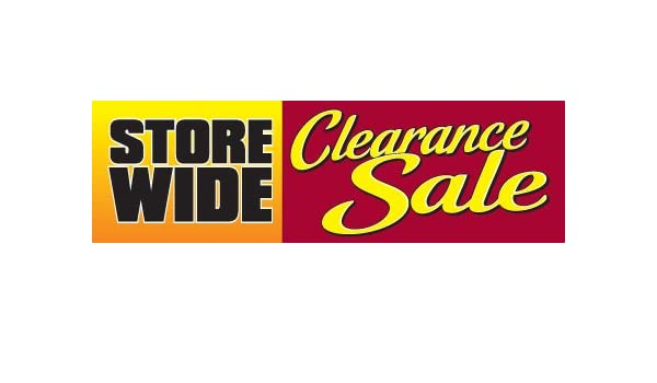 B90SLC Sale Burst Design Indoor Outdoor Banners Furniture and Retail Business Store Signs 13 oz Heavy Duty Vinyl Gloss Banner with Metal Grommets Rope and Taped Hemmed Sides 4 x 20