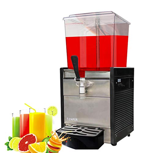 JCOCO Commercial Self-service Beverage Machine - Stainless Steel Cold Drink Machine - Silent Energy Saving - High Efficiency Pure Copper Motor - for Making Juice Tea Coffee - -