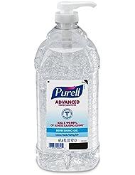 Purell Advanced Hand Sanitizer, Refreshing Gel, 2 Liter Hand Sanitizer Table Top Pump Bottle - 9625-04-EC