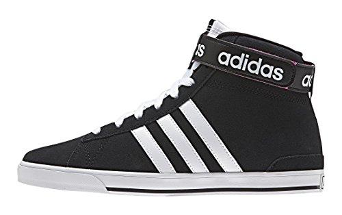 adidas Daily Twist Mid W, Zapatillas de Deporte para Mujer Negro / Blanco / Rosa (Negbas / Ftwbla / Rosimp)