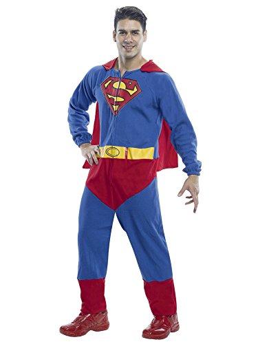 (Rubie's Men's Superman One Piece Costume, Multi,)
