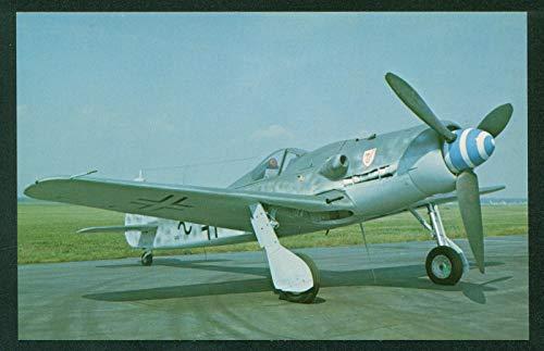 Focke Wulf FW-190 Junkers Jumo Engine German Fighter Airplane WWI Aircraft ()