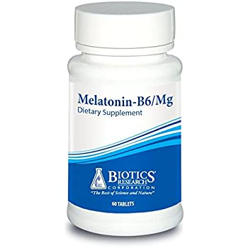 Biotics Research Melatonin-B6/Mag– Sleep Support, Circadian Rhythm Support, Fall Asleep and Stay Asleep, Supports Calming Brain Activity, Healthy Weight ...