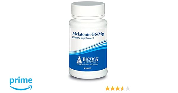 Amazon.com: Biotics Research Melatonin-B6/Mag– Sleep Support, Circadian Rhythm Support, Fall Asleep and Stay Asleep, Supports Calming Brain Activity, ...