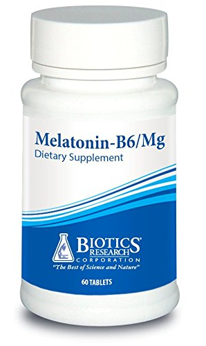Biotics Research Melatonin-B6/Mag– Sleep Support, Circadian Rhythm Support, Fall